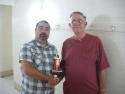 C trophy winner Del Hall